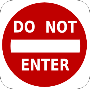Do_Not_Enter_Sign_clip_art_medium